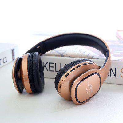 KDK56 Bluetooth Headset New Stereo Card Support FM Radio Universal Headset
