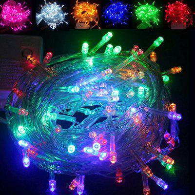 LED Lights Flashing Lights Christmas Lights String Full Of Stars Holiday Wedding Decoration Lights Tree Lights Small Lights Outdoor Waterproof Lights