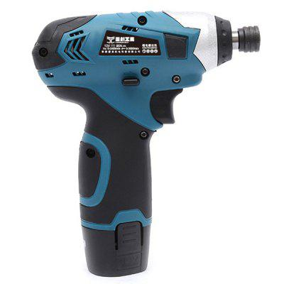 Power Tools 12V Electric Screwdriver Lithium Rechargeable Driver