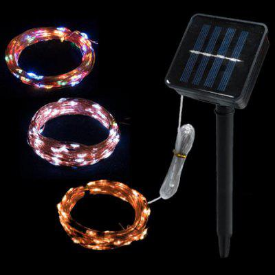 Copper Wire Solar Light String for Decoration
