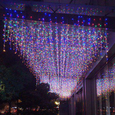 LED Icicle Light Christmas Lights Holiday Decoration Lights Wedding Lights Stars Stars String Lights Curtain Lights Star Light