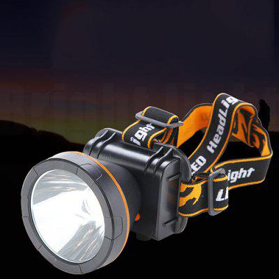 Built-in Lithium Battery Strong Head Light Fixed Focus Long-range Outdoor Dimming Head for Flashlight Lamp