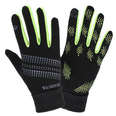 Outdoor Warm Men And Women Winter Fitness Sports Riding Non-slip Screen Touch Gloves