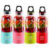 Hot Explosion Portable Electric Juicer Household Juicer Juice Blender 4 Leaf Blade Juicer - AZUL
