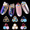 Nail Art Jewelry Flat Rhinestone Envelope Drill Magic Color Diamond Super Flash Pearl Alloy Nail Drill Nail Decoration - 1930# (1)