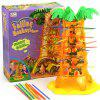 Monkey Climbing Tree Parent-child Interactive Table Games Dumping Monkey Down Children's Educational Toys - MONKEY CLIMBING TREE DESKTOP PARENT-CHILD GAME