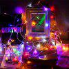 LED Lantern Christmas Lights With Stars Flashing Lights Festival Wedding Decoration Lights Mall Outdoor Light Strings - BATTERY SECTION 10 METERS 80 LIGHTS [WARM WHITE]