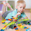 Kinder Dinosaurier Electric Track Montage Spielzeug DIY Puzzle Track - 238 (192 STüCKE)