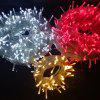 Solar Light String Shopping Mall Courtyard Decoration Outdoor Waterproof Function Lights String - WARM WHITE
