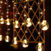 Led String Lights Christmas Decoration Lights Star Lights Wishing Ball Curtain Lights Holiday Round String Lights - PINK