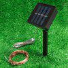 Copper Wire Solar Light String for Decoration - PLATINUM