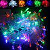 LED Lights Flashing Lights Christmas Lights String Full Of Stars Holiday Wedding Decoration Lights Tree Lights Small Lights Outdoor Waterproof Lights - COLOR 10 METERS 100 LIGHTS WITH TAIL PLUG