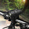 USB Charging Headlights New 2256 Headlights Gemstones Bicycle Warning Lights Mountain Bike Headlights Highlighting - BLACK HEADLIGHTS WITHOUT STANDARD