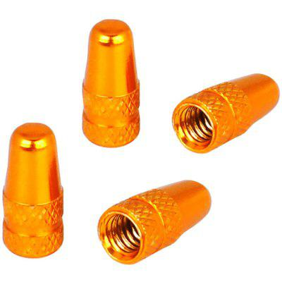 VVC-001 Bicycle Tire Color Aluminum Alloy French Mouth Valve Cap