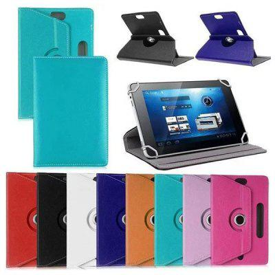 Tablet 7 8 9 10 Inch Universal Leather Case Three-hole Rotating Four-hook Protective Cover