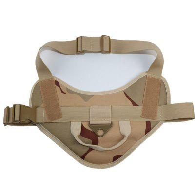 Outdoor Tactical Dog Clothes Dog Vest Large Patrol Dog Vest MOLLE Multi-function Hunting Dog Clothing Equipment