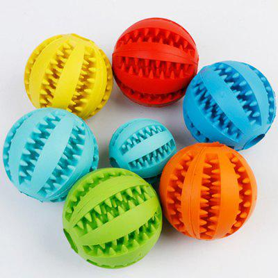 Pet Leaking Food Ball Natural Rubber Dog Toy