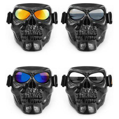 Motorcyclist Equipment Goggles Mask Protection Windproof Glasses