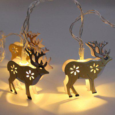 Christmas LED Battery Box Bells Deer Decorative Lights String