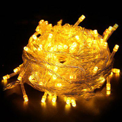 Waterproof LED String Lights With Tail Insert Christmas Day Decorative Light