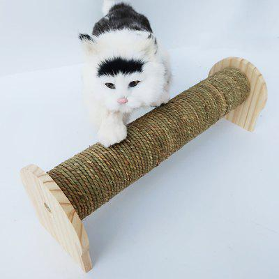 Cat Scratch Column Cat Arrampicata Frame Colonna Sisal Cat Toy Legno solido Colonna da afferrare Pet Supplies