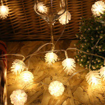 Pinecone LED Christmas Day Lanterna Party Supplies Party Rooftop Pendant Garden Decorazione Light String