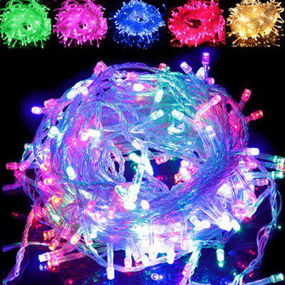 LED Flashing Lights String Christmas Day Wedding Oświetlenie zewnętrzne Full of Stars Romantic Lights