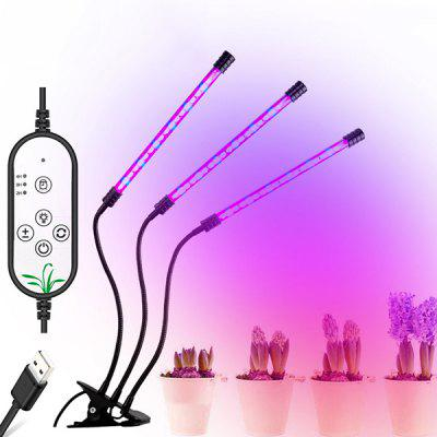 E27 Drie kop 27W High Power LED Strip Plantengroei Lamp