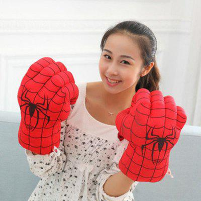 Plush Toy Boxing Gloves Child Adult Gloves