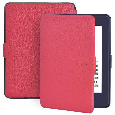 E-book Protection Leather Case for Kindle Paperwhite 899 / 958