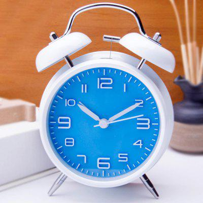 Stereo Digital Alarm Clock Creative Classic Silent Student Loud Double Bell Bell Clock 4 Inch
