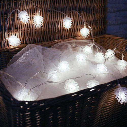 Pinecone LED Christmas Day Lantern Party Supplies Party Rooftop Pendant Garden Decoration Light String | Gearbest