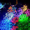 200 LED Solar Lights String Multi-function Holiday Christmas Garden Decoration Lights Outdoor Waterproof Lights - 32 METERS 300 LIGHTS SOLAR 8 FUNCTION (WARM WHITE)