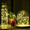 Gypsophila LED Waterproof Copper Wire Lamp Solar Cell Light Outdoor Decoration Holiday Christmas Lights String - COPPER WATERPROOF BATTERY: 4 METERS 40 LIGHTS WARM WHITE
