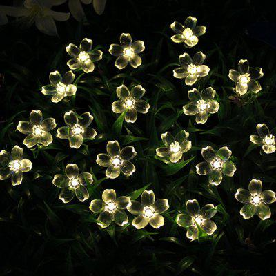Solar String Light Double Function Lights Waterproof Christmas Holiday Decoration Lamps