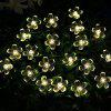 Solar String Light Double Function Lights Waterproof Christmas Holiday Decoration Lamps - 4.8 METERS SOLAR 20 HEAD PICK PINK