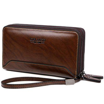 VICUNAPOLO Men Multifunctional Clutch Wallet