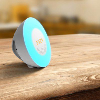 Bluetooth Speaker Multi-function Wake-up Lamp Colorful Alarm Clock