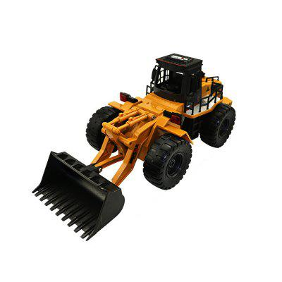 HUINA 1520 1:18 2,4G 6CH RC Simulation Alloy Truck Construction Toy