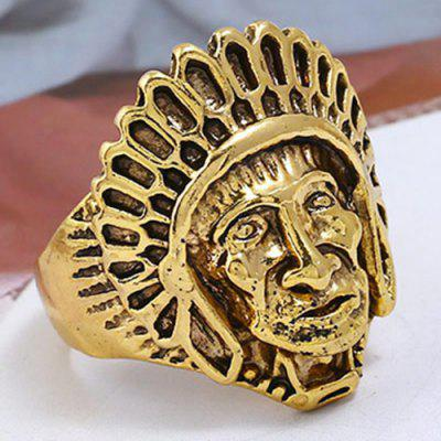 Chefe do Vintage Chief of Indian Ring