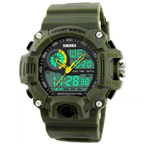 12929c5c5a0 Skmei 1029 Double Movt Army LED Watch -  12.81 Free Shipping ...