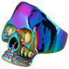 Punk Evil Skull Metal Biker Ring - COLORMIX