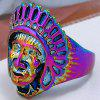 Vintage Chief Head of Indian Ring - SILVER
