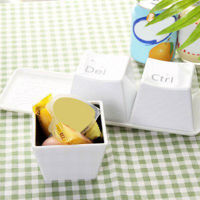 3PCS Creative Keyboard Keys Shape Cup Mokken