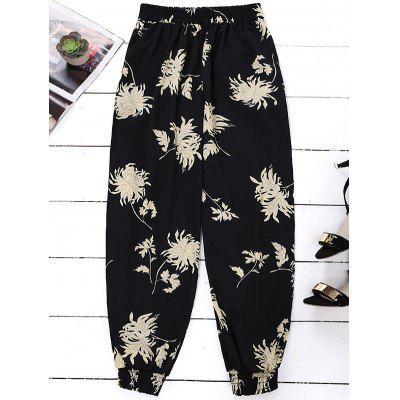 Floral Bloomer Holiday Pants