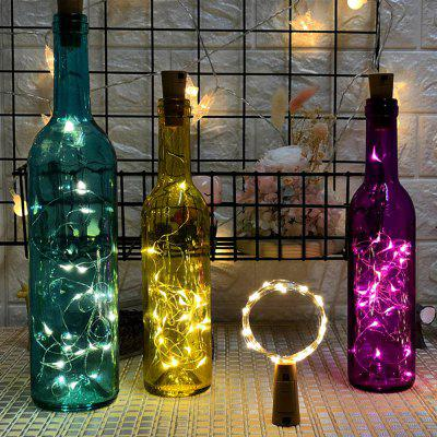 Creative LED Lanterns Bottle Stopper 2 Meter 20 Lights
