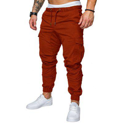 Casual Elastic Sports Trousers Men's Trousers