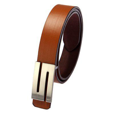 Men Leather Belt Fashion
