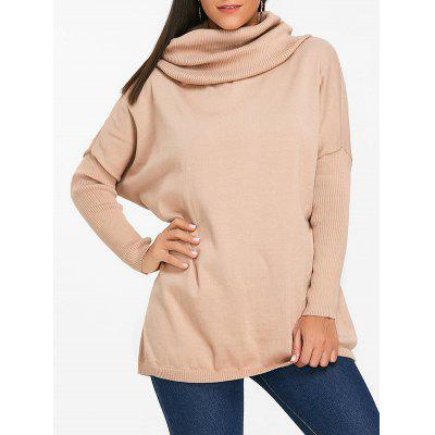 Batwing Sleeve Cowl Neck Sweater