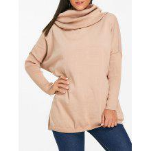 eacea1a94 Batwing Sleeve Cowl Neck Sweater